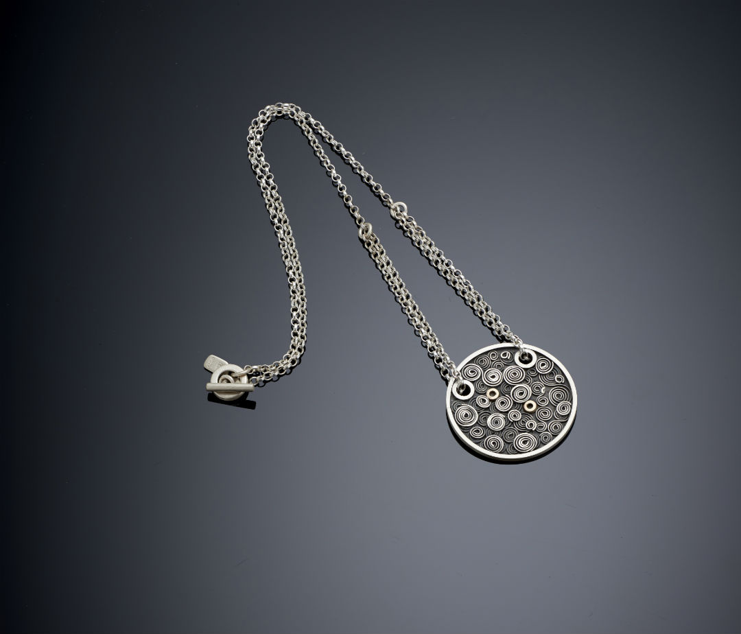 Clockwork pendant by Emma Jane Champley